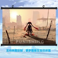 Anime GRAY RAVEN:PUNISHING Lucia Poster Wall Scroll Painting Decor Gifts 40*60cm
