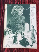 """ANN SOTHERN - FILM STAR - 1 PAGE OF PICTURES -"""" CLIPPING / CUTTING"""""""