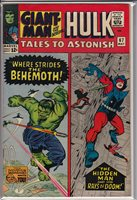 TALES TO ASTONISH 67 MAY 1965; Jack Kirby cover, Steve Ditko back-up story.