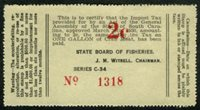 SRS SC CR2 1934 2c light yellow, 1 gal perf four sides, mint, VF