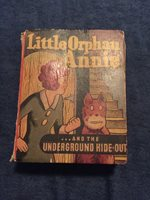 Vintage Little Orphan Annie Underground Hide-out 1943 1945 by Harold Gray