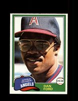 1981 DAN FORD OPC #303 O-PEE-CHEE ANGELS GRAY BACK *8281