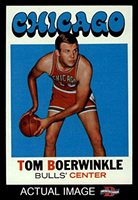 8c06f640b59 1971 Topps   15 Tom Boerwinkle Chicago Bulls (Basketball Card) Dean s Cards  7 - NM