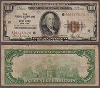 1929 $100 FR-1890-B New York
