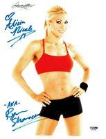 Ryan Shamrock aka Alicia Nicole Signed Autographed 8.5x11 Photo PSA/DNA #X47030