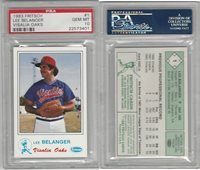 1983 Fritsch Baseball, #1 Lee Belanger, Visalia Oaks, PSA 10 Gem