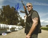 Ron Perlman Signed 8x10 Photo PSA/DNA COA Sons of Anarchy Picture Autograph SOA