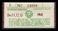 SRS CA TM283 1941 red brown (U) Dec. 11-13 mint, VF