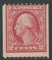 #449 Mint Hinged Average w/2014 PSAG Cert. #0565926, 2014 Scott Cat. $2500.00 Item Number: 09 Our Selling Price: $1175.00