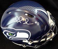 Paul Richardson Autographed Seattle Seahawks Full Size Speed Authentic Helmet MCS Holo #39531Paul Richardson Autographed Seattle Seahawks Full Size Speed Authentic Helmet MCS Holo #39531