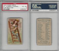 N232 Kinney, Surf Beauties, 1889, St. Clement, Channel Isl., PSA 4 VGEX