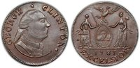 1787 Clinton Cent Electrotype. Uncirculated [uncertified].
