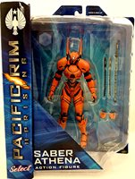 Pacific Rim 2 8 Inch Action Figure Select Series 1 - Saber Athena