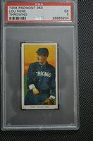 1909-11 T206 - Lou Fiene - Throwing - Piedmont 350 - PSA 5 - EX
