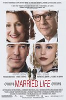 MARRIED LIFE Movie POSTER 27x40 Pierce Brosnan Chris Cooper Patricia Clarkson