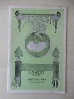 October 12th, 1912 - Metropolitan Opera Playbill - The Siren - Donald Brian