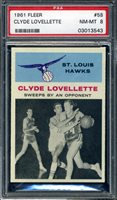 1961 FLEER CLYDE LOVELLETTE #58