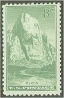 747 8c Zion Park F-VF Used[747used]
