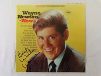 Wayne Newton Now! Signed Vinyl Record Album JSA
