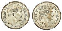 DENMARK. Frederik VII. 1848 FK//VS AR Speciedaler. NGC MS63+. Copenhagen