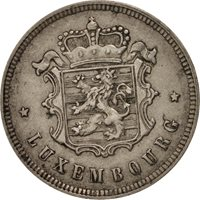 Luxembourg, Charlotte, 25 Centimes, 1927, EF(40-45), Copper-nickel, KM:37