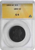 1802 Large Cent G06 ANACS