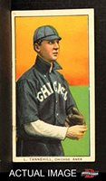 1909 T206 DOT Lee Tannehill Chicago White Sox (Baseball Card) (Chicago L. Tannehill On Front) Dean's Cards 4 - VG/EX
