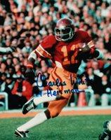 "Charles White Signed Autographed 8X10 Photo USC Tojans ""79 Heisman"" COA"