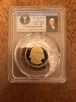 2007-S James Madison 4th  President  Presidential Dollar PCGS PR69DCAM