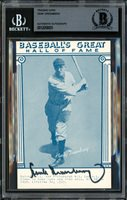 Hank Greenberg Autographed 1977 Baseball's Great Exhibit Card Detroit Tigers Beckett BAS #12058931Hank Greenberg Autographed 1977 Baseball's Great Exhibit Card Detroit Tigers Beckett BAS #12058931