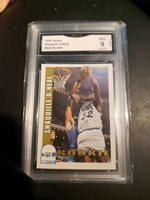 1992-93 Hoops Shaquille O'Neal ROOKIE MINT 9!! Orlando Magic NBA