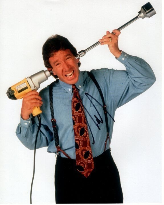 Tim Allen Signed Autographed Home Improvement Tim Taylo