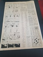 MAY 9TH 1974 MARTINSVILLE BULLETIN PAPER 4 PAGES COMICS BUGS BUNNY,PRISCILLA