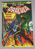 TOMB OF DRACULA #21 JUNE 1974 MARVEL COMICS GENE COLAN BLADE APP VF/NM 9.0