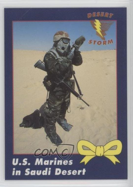 Non-sport Trading Cards 1991 Ama Desert Storm Yellow Ribbon #48 A-10 Warthog Non-sports Card 0d8