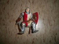 1982 Figure TSR Hobbies Dungeons and Dragons AD&D Action Figure KNIGHT Sword