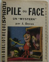 Mini Story Battery Or Face One Mystern Supplement Spirou No 1294 Year 1962