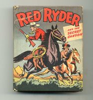 Red Ryder and the Secret Canyon Big Little Book 1947 Whitman