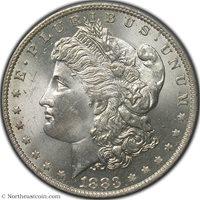 1883-O Morgan Dollar PCGS MS63 Morgan Dollar