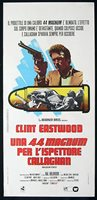 MAGNUM FORCE Original Italian Locandina Movie Poster Ferrini Art Dirty Harry
