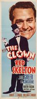 THE CLOWN Movie POSTER 14x36 Insert Red Skelton Jane Greer Tim Considine Loring