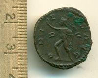 Postumus 260-269AD AR Bronze Antoninianus 2.77gm Radiate Draped Bust Right IMPC