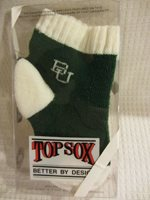 Baylor University - Small Baby Bootie , White Lettering NEW (1220BL12)