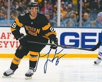 MAX TALBOT signed BOSTON BRUINS 8X10 WINTER CLASSIC photo w/ COA - Autographed NHL Photos