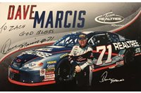Dave Marcis Signed 5x8 with COA. Guaranteed to pass JSA, PSA