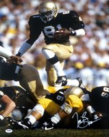 TIM BROWN AUTOGRAPHED SIGNED 16X20 PHOTO NOTRE DAME FIGHTING IRISH PSA/DNA 79259