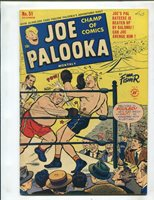 JOE PALOOKA MONTHLY #51 (FN/FN+) LOW BLOW COVER!! BABE RUTH!! 1950