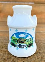 Vintage Knotts Berry Farm Milk Can Toothpick Holder Or Doll House Decor