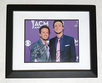 Whiskey On My Breath LOVE AND THEFT Signed Autographed FRAMED Photo COA! STAR!
