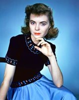 DOROTHY McGUIRE great 8x10 color portrait still -- mo122